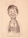 "Postcard Alfred E. Neuman Look-a-Like ""All Angels Have Freckles"" • USA Publication Date: 1911"