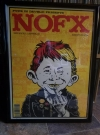 NOFX Concert Poster with Alfred E. Neuman • USA