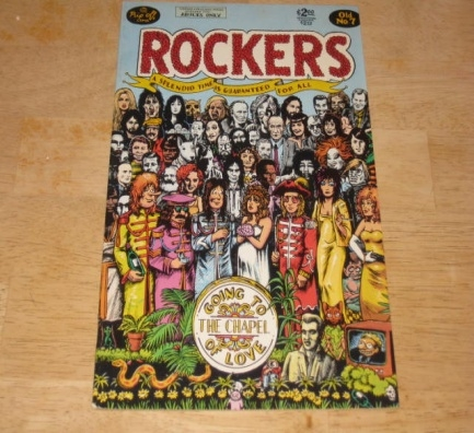 Rockers Comic Book  #7 • USA