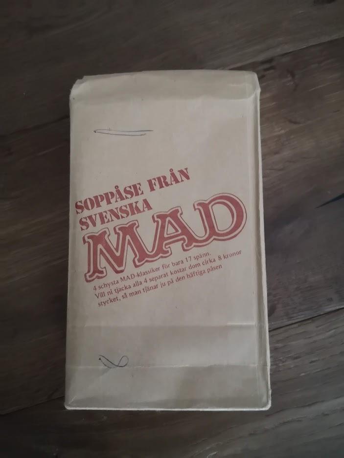 Soppåse Från Svenska MAD (4 paperback Bag) • Sweden