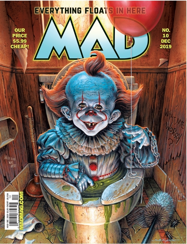 MAD Magazine #10 • USA • 2nd Edition - California
