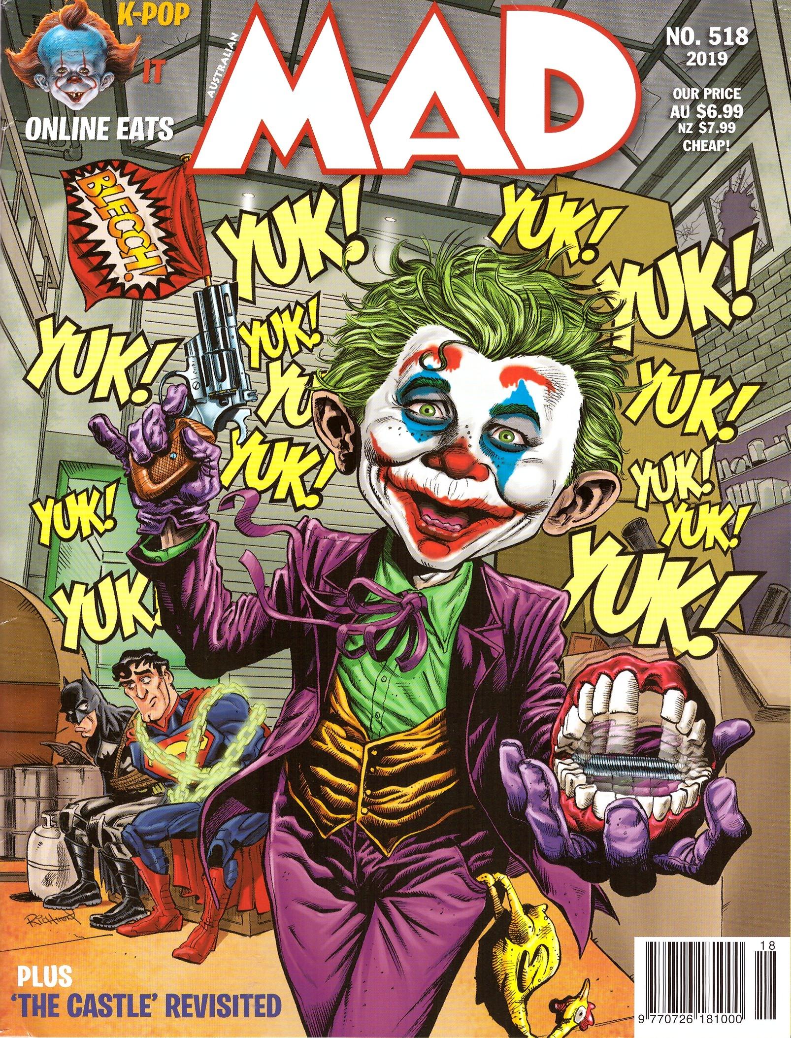 MAD Magazine #518 • Australia