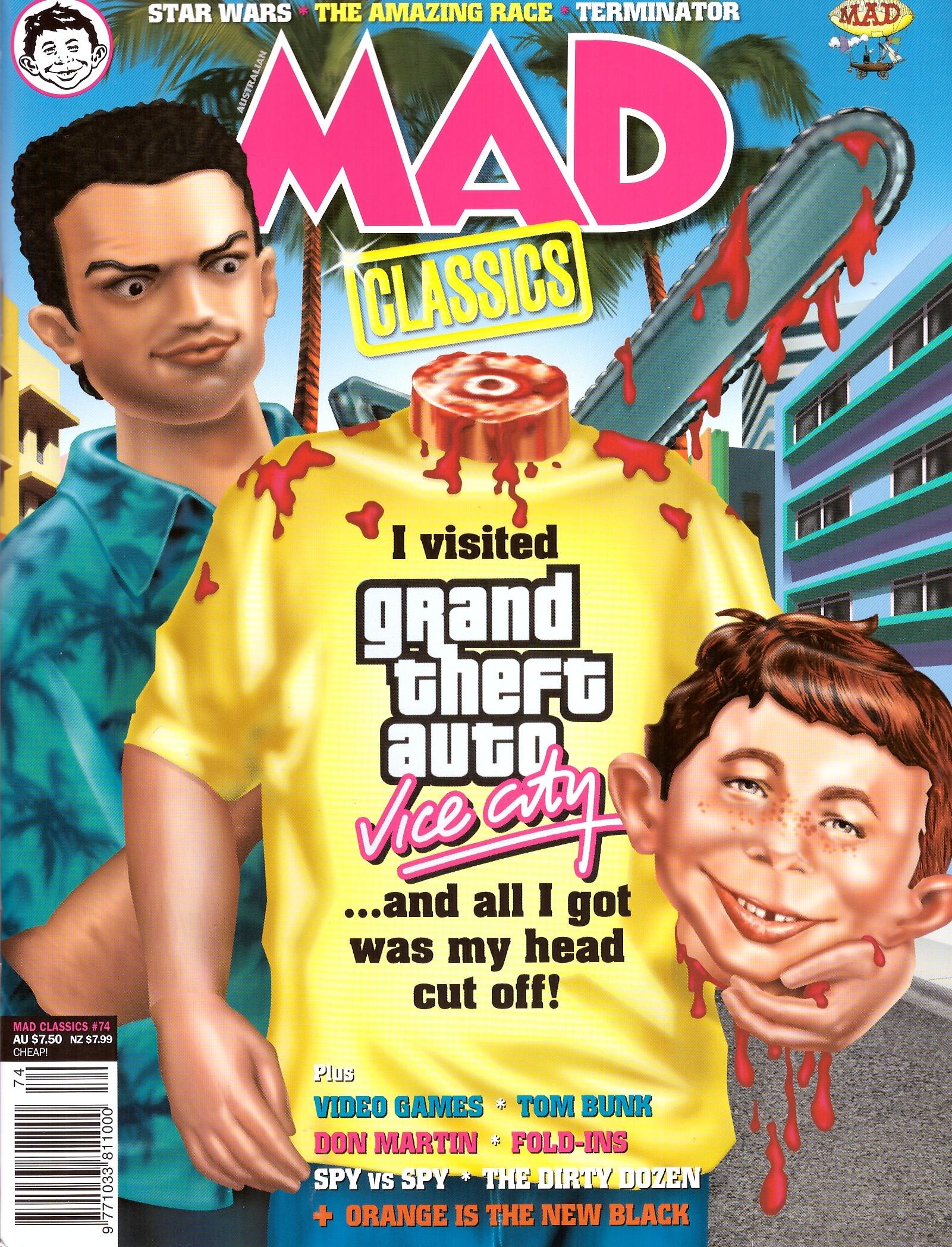 MAD Classics #74 • Australia