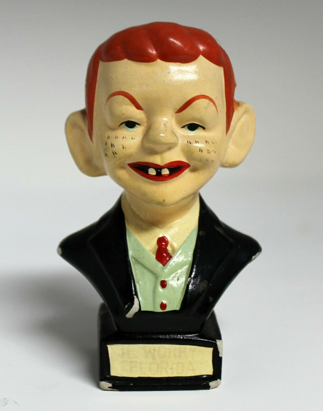 Bust Alfred E. Neuman Japan Made • Japan