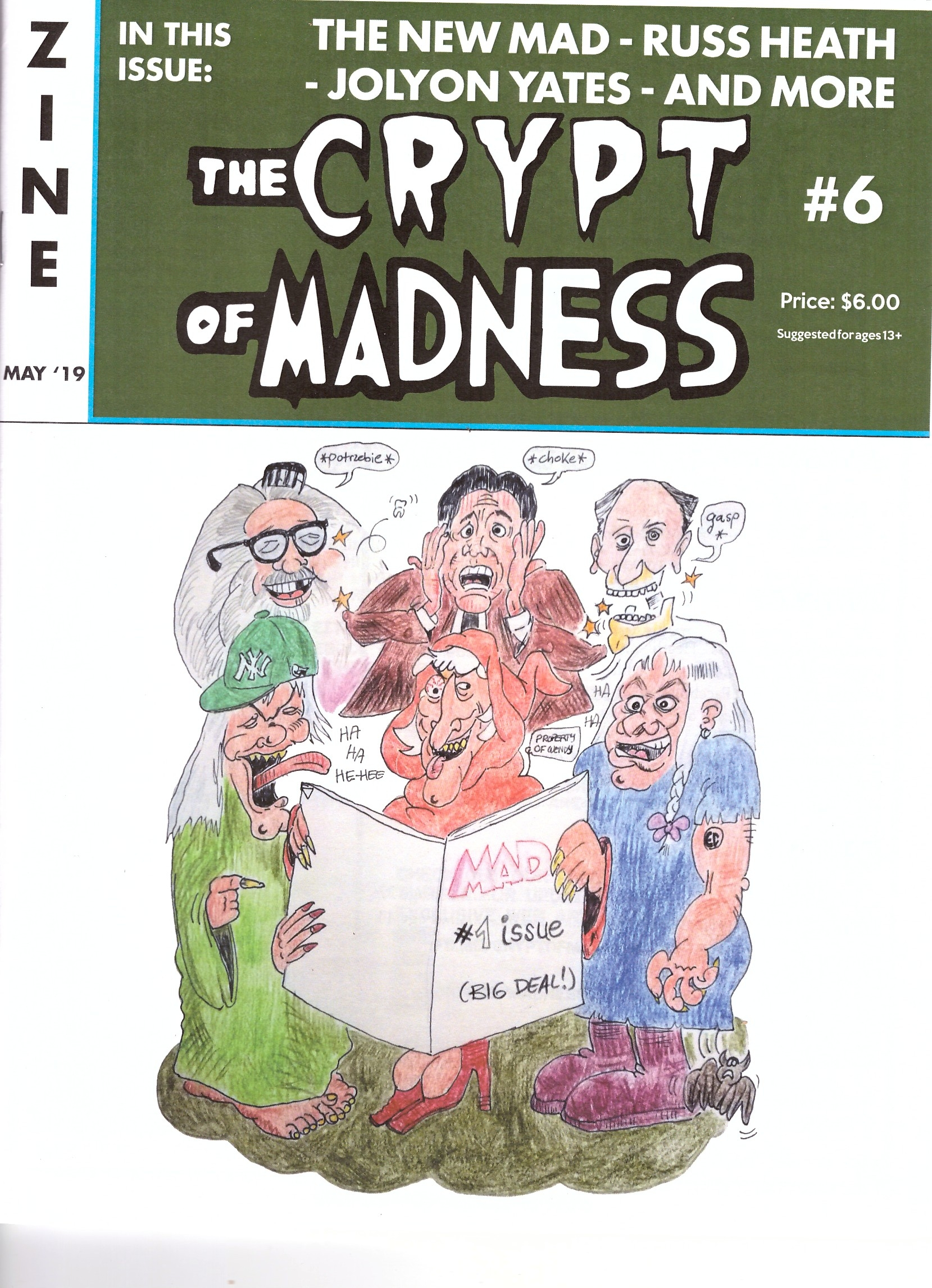 The Crypt of Madness #6 • USA