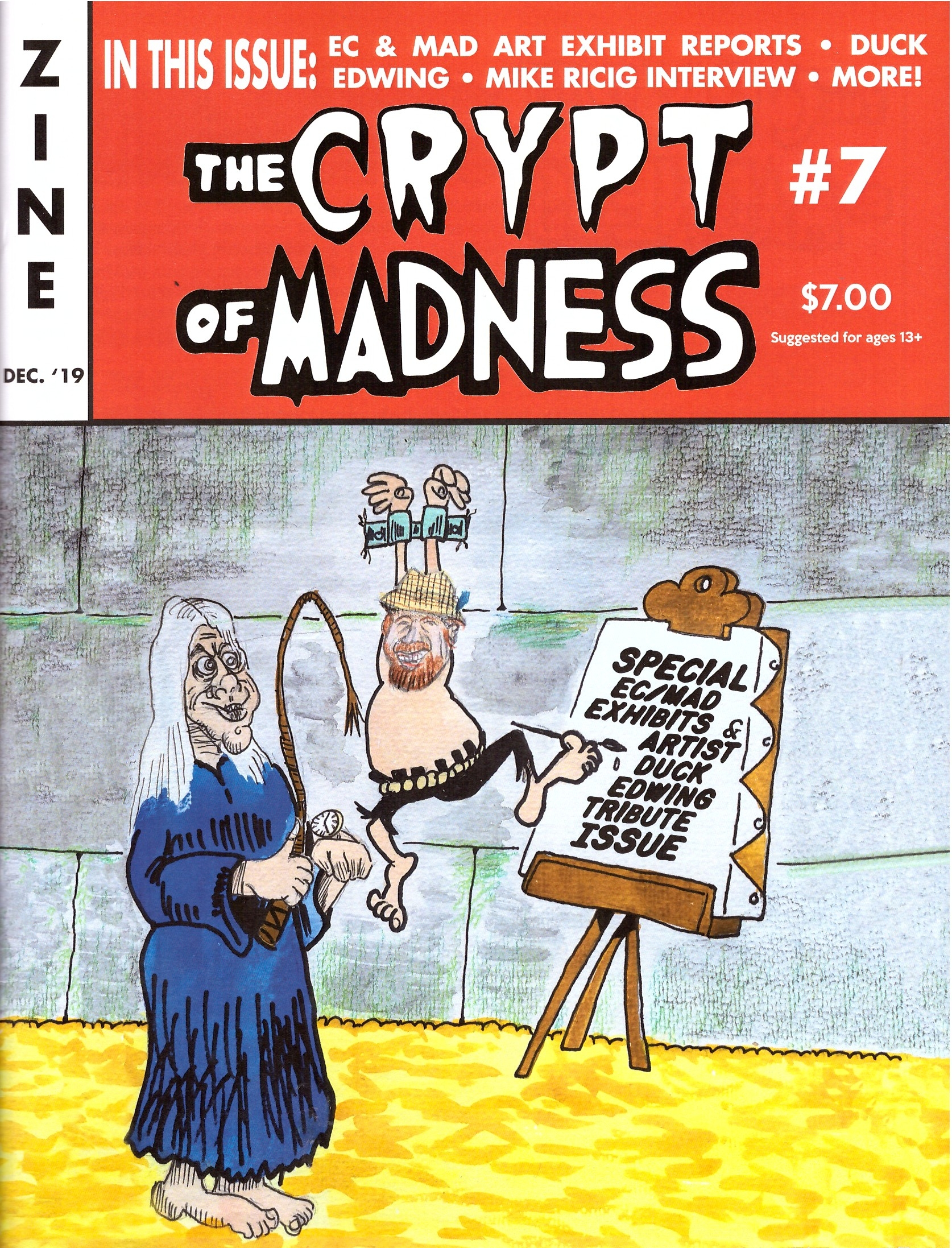 The Crypt of Madness #7 • USA