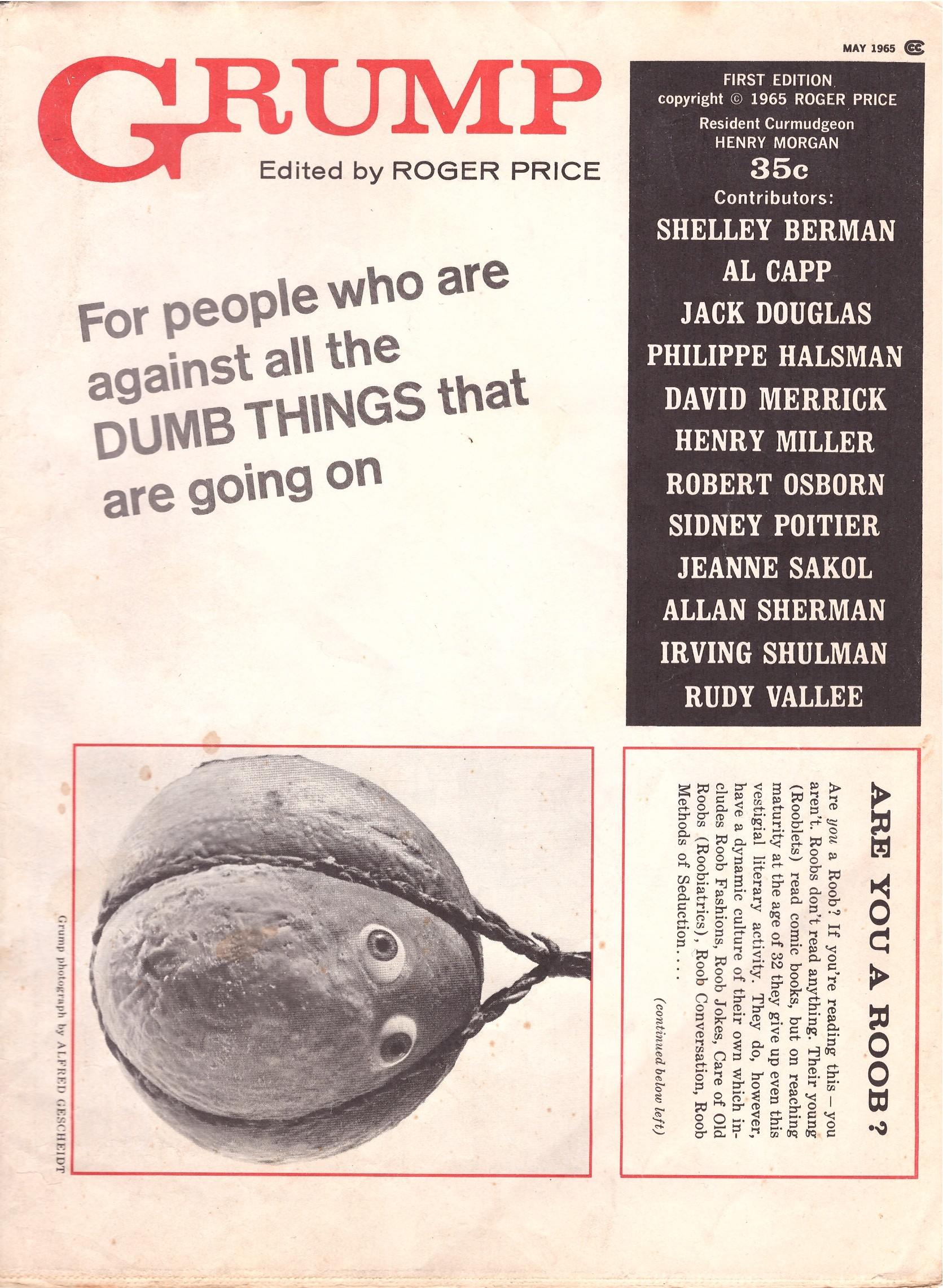 Grump Magazine #1 • USA