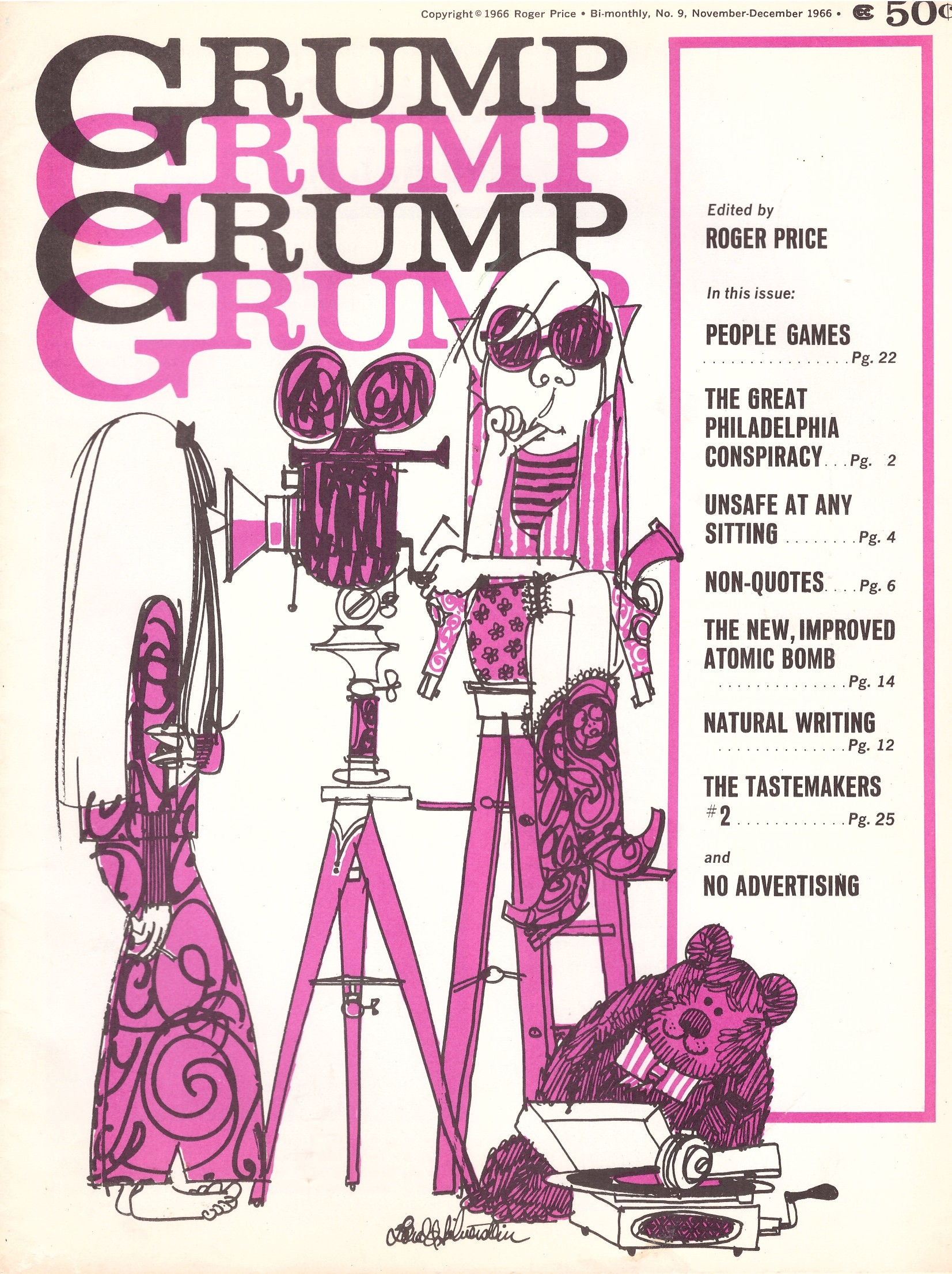 Grump Magazine #9 • USA