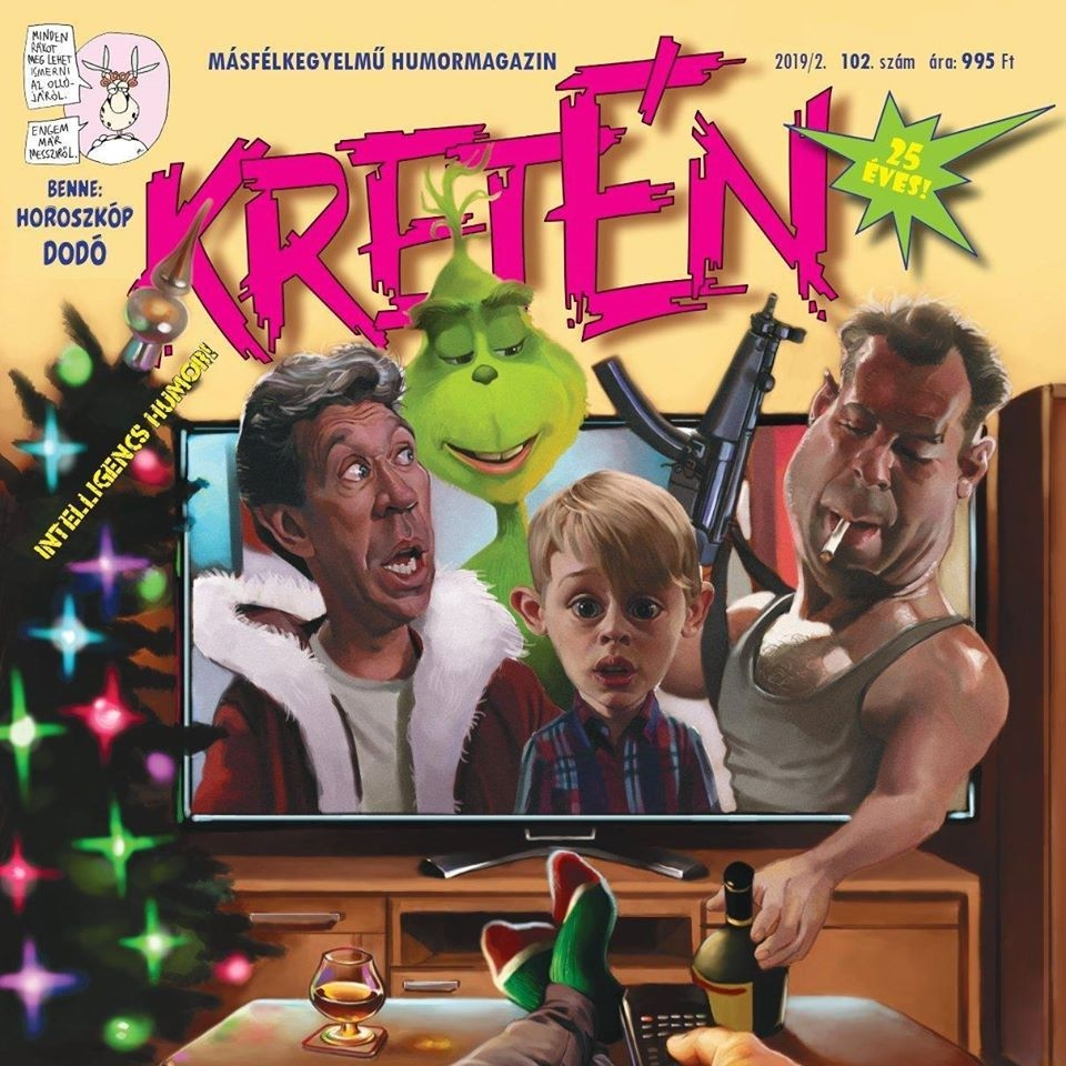 Kretén Magazine #102 • Hungary • 2nd Edition - MAD