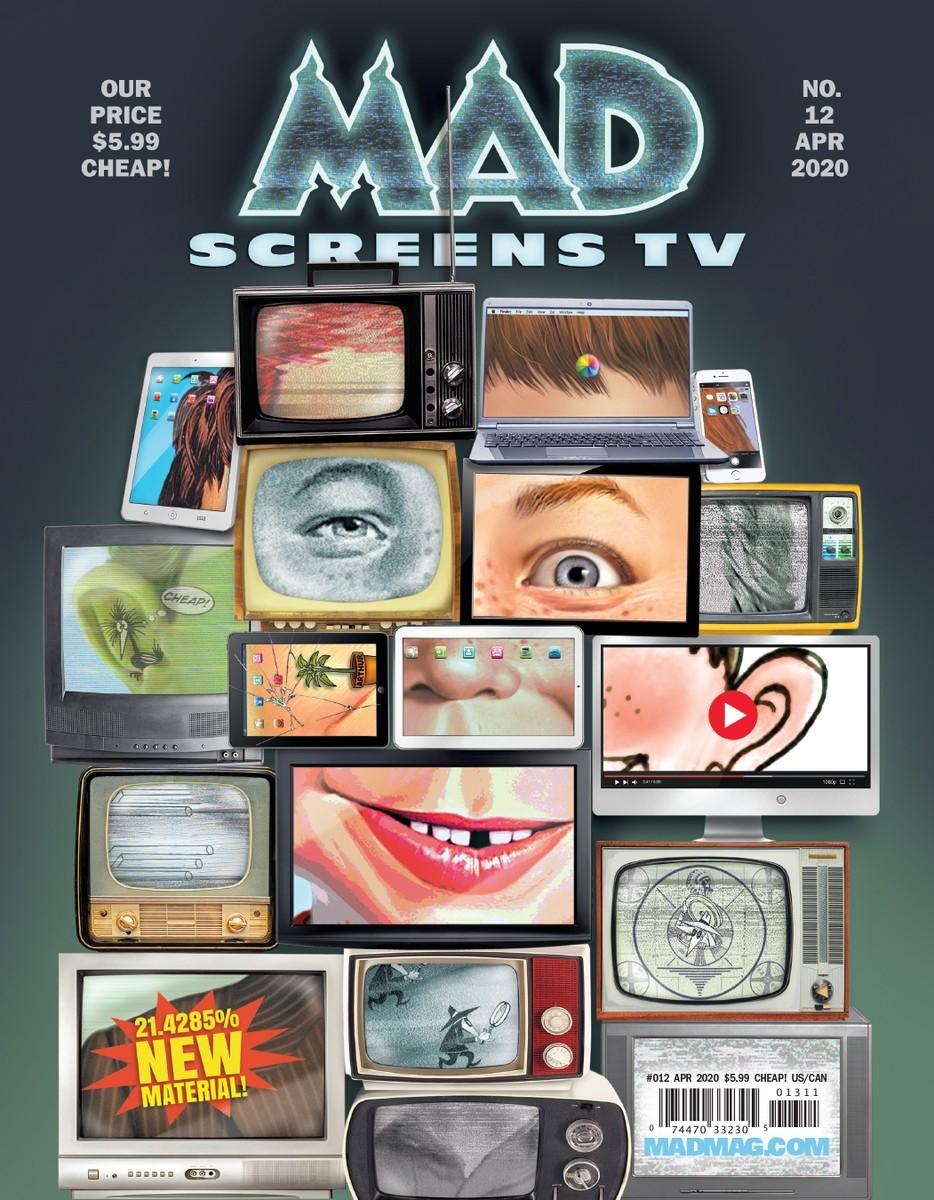 MAD Magazine #12 • USA • 2nd Edition - California