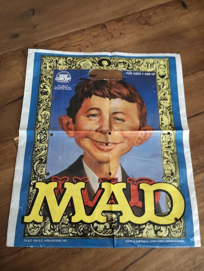 MAD Promotional Plastic Bag (Squirt Toys) • Australia