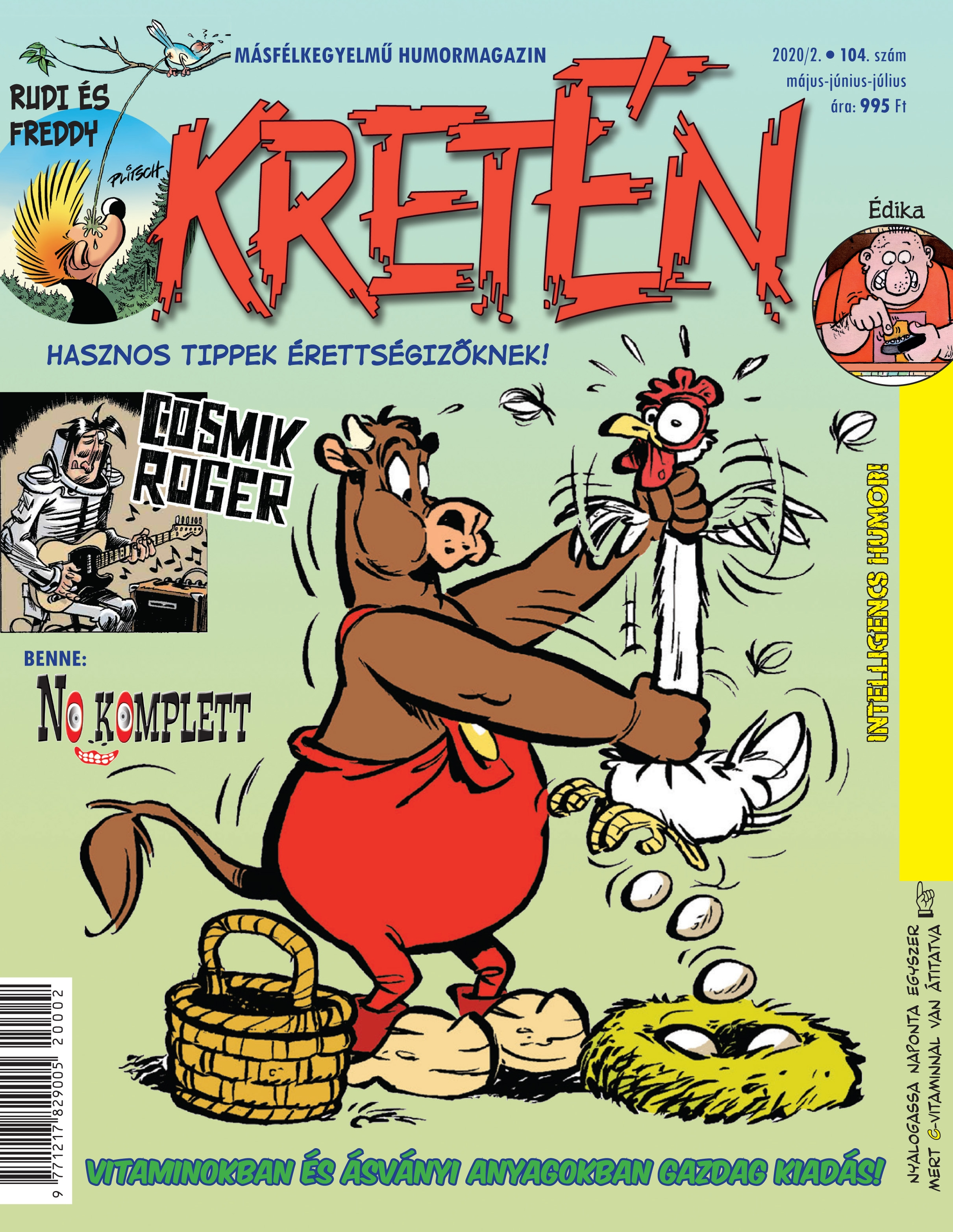 Kretén Magazine • Hungary • 2nd Edition - MAD