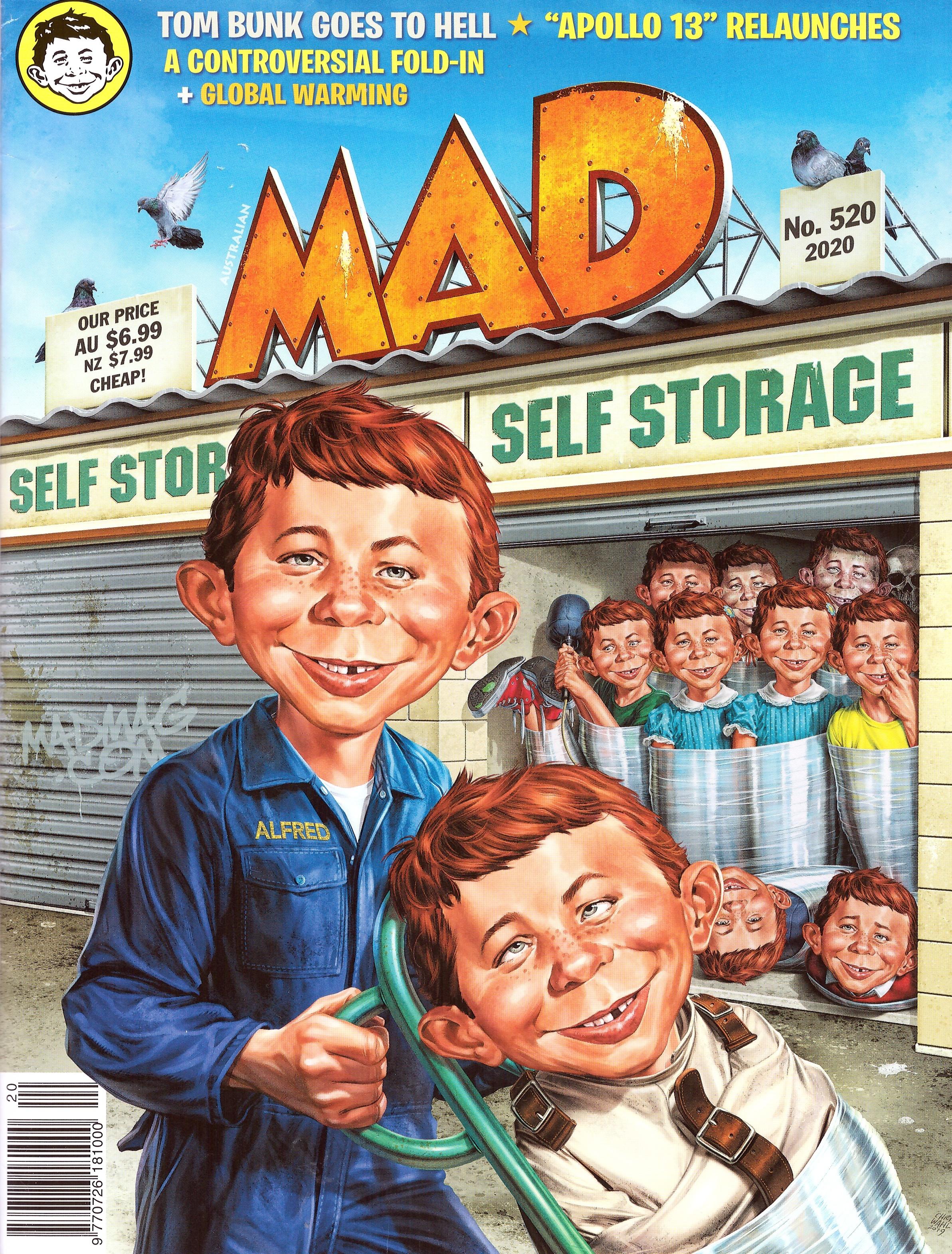 MAD Magazine #520 • Australia