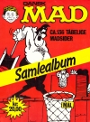 Dansk MAD Samlealbum • Denmark • 2nd Edition - Semic Original price: kr. 20,00