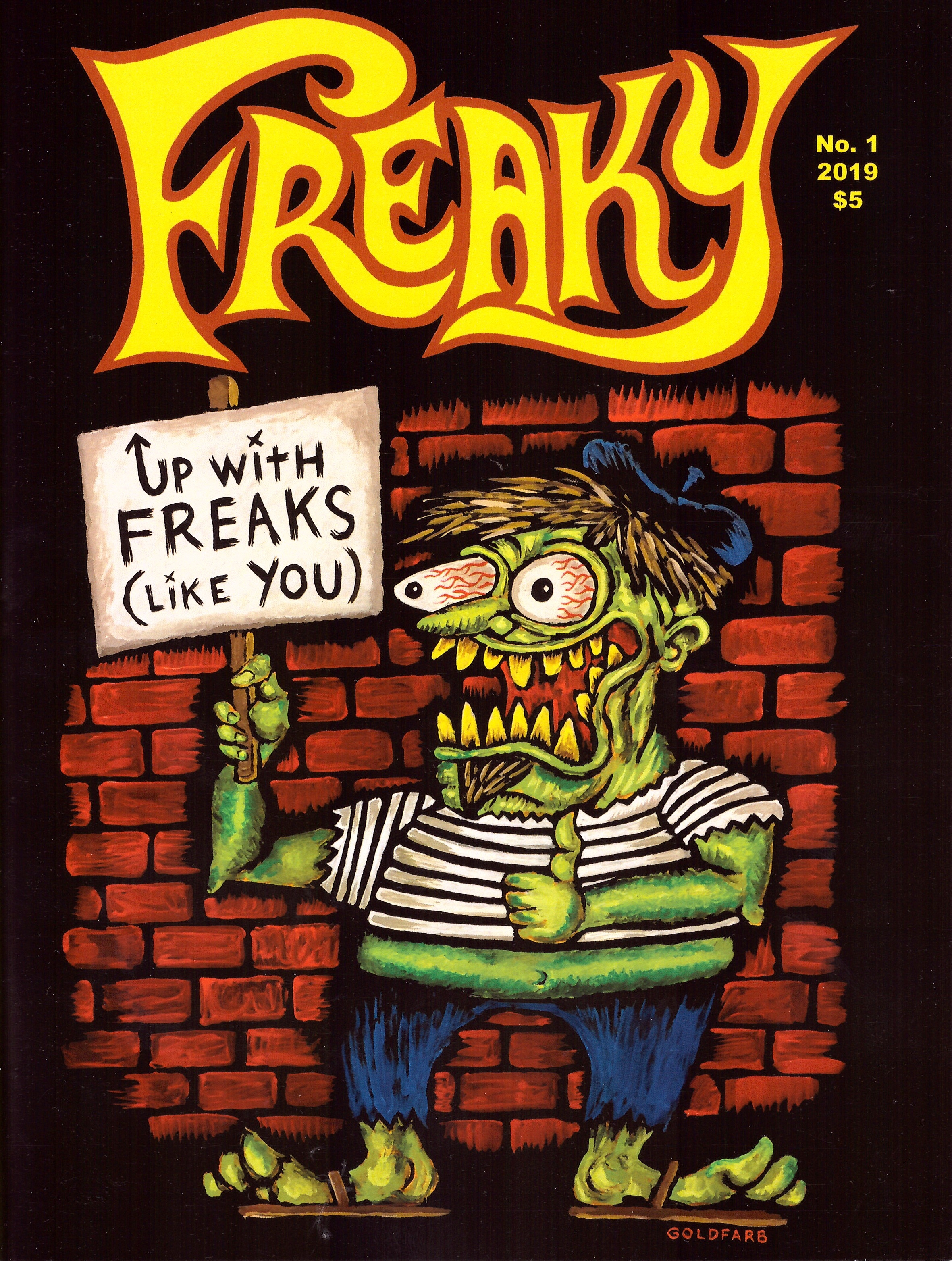 Freaky Magazine #1 • USA