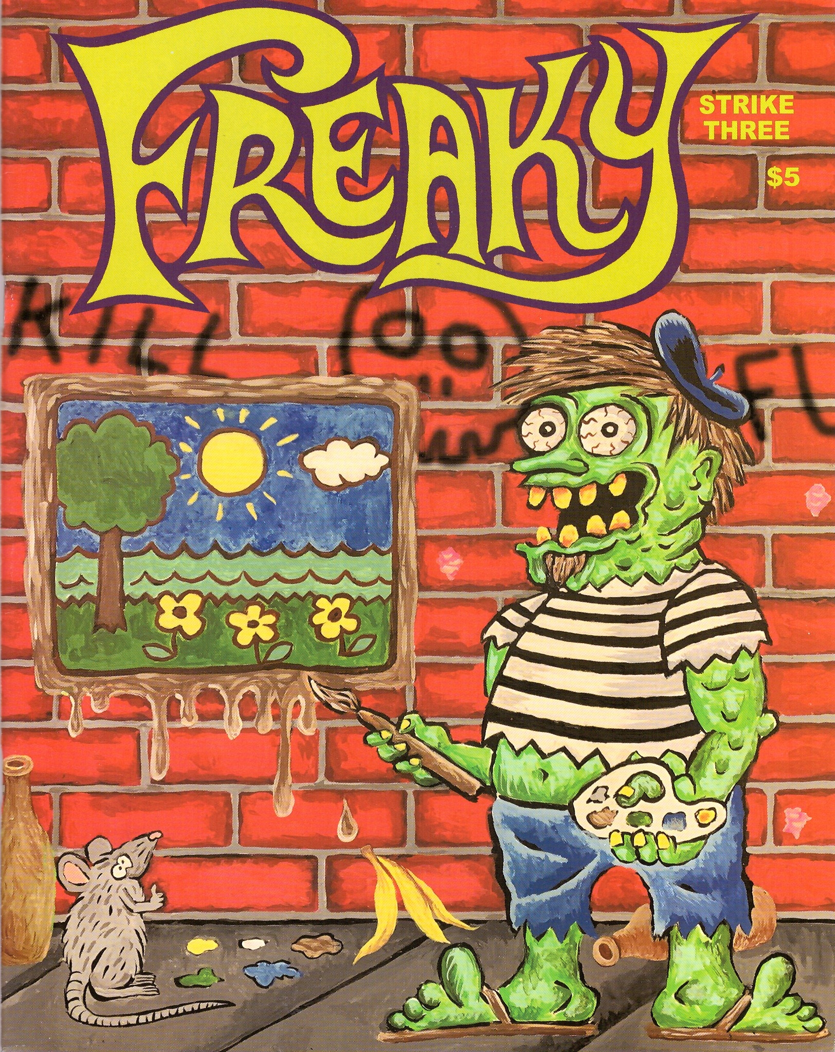 Freaky Magazine #3 • USA