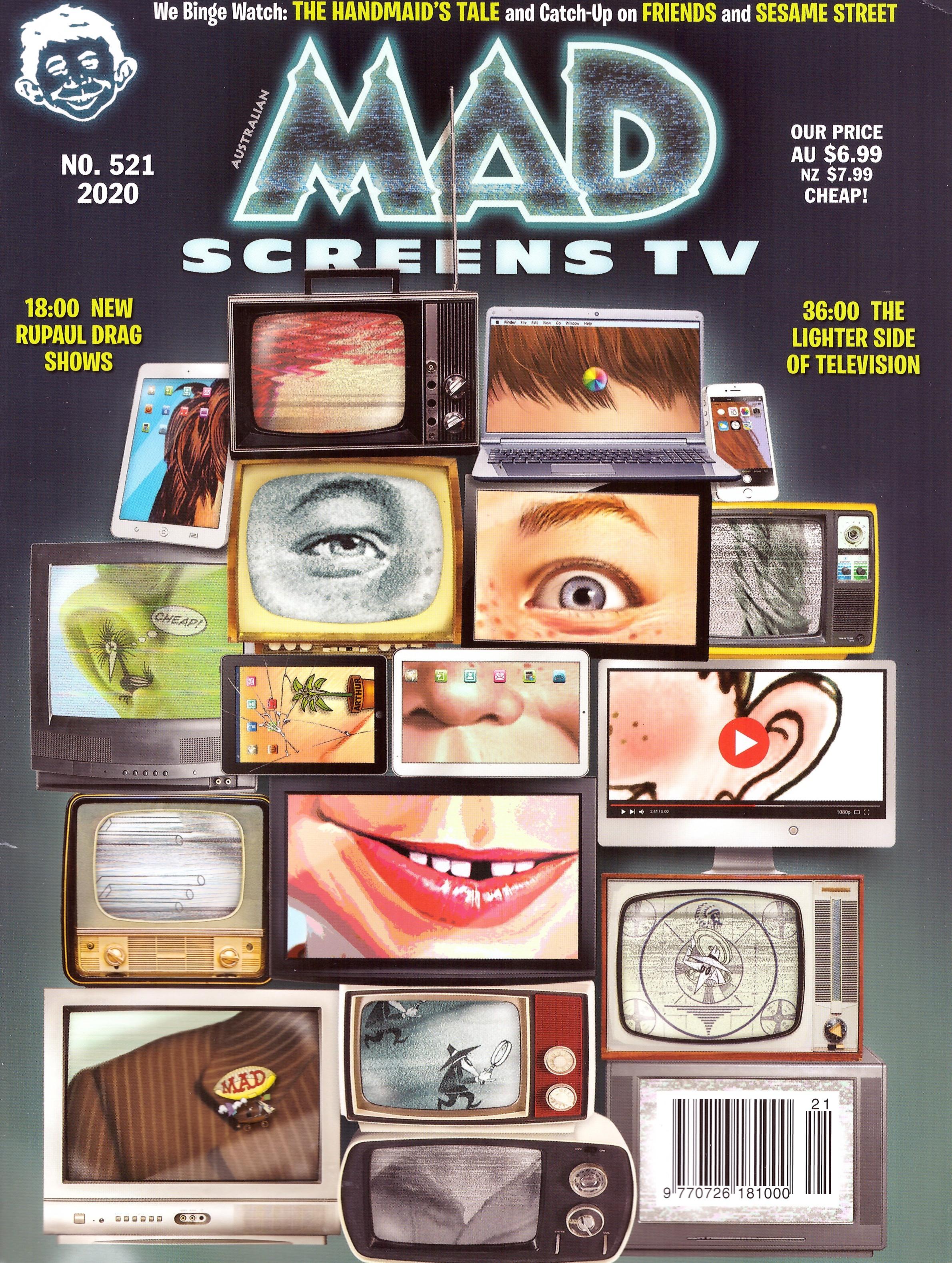 MAD Magazine #521 • Australia