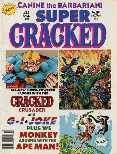 Super Cracked (Volume 1) • USA