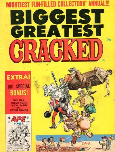 Biggest Greatest Cracked #1 • USA