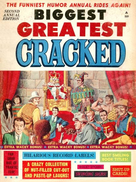 Biggest Greatest Cracked #2 • USA