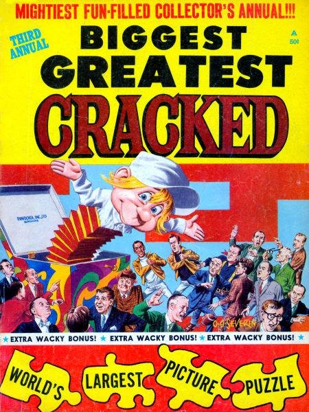 Biggest Greatest Cracked #3 • USA