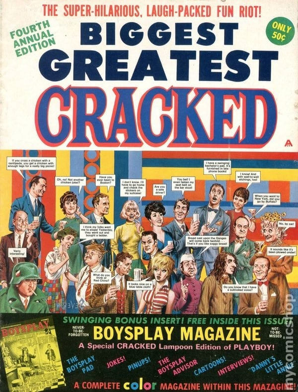 Biggest Greatest Cracked #4 • USA