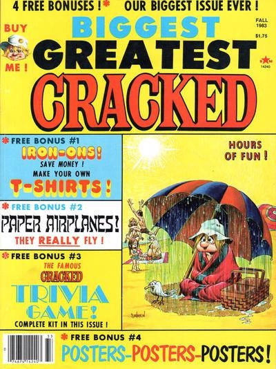 Biggest Greatest Cracked #18 • USA