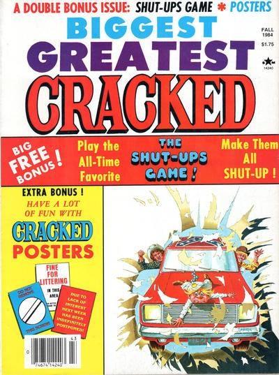 Biggest Greatest Cracked #19 • USA