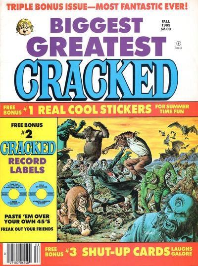 Biggest Greatest Cracked #20 • USA