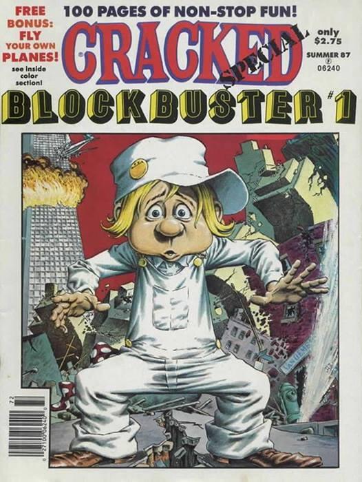 Cracked Blockbuster #1 • USA