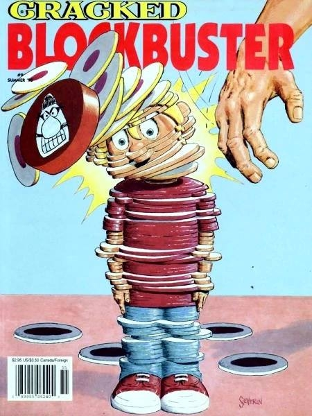 Cracked Blockbuster #9 • USA