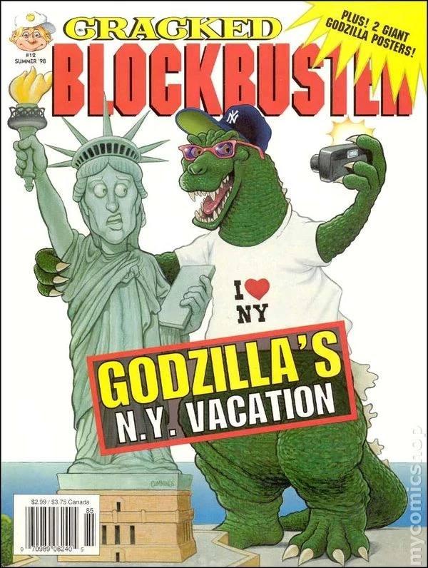 Cracked Blockbuster #12 • USA