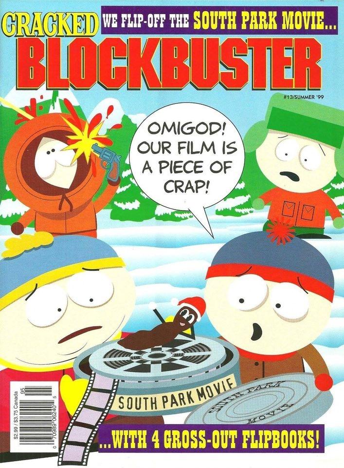 Cracked Blockbuster • USA