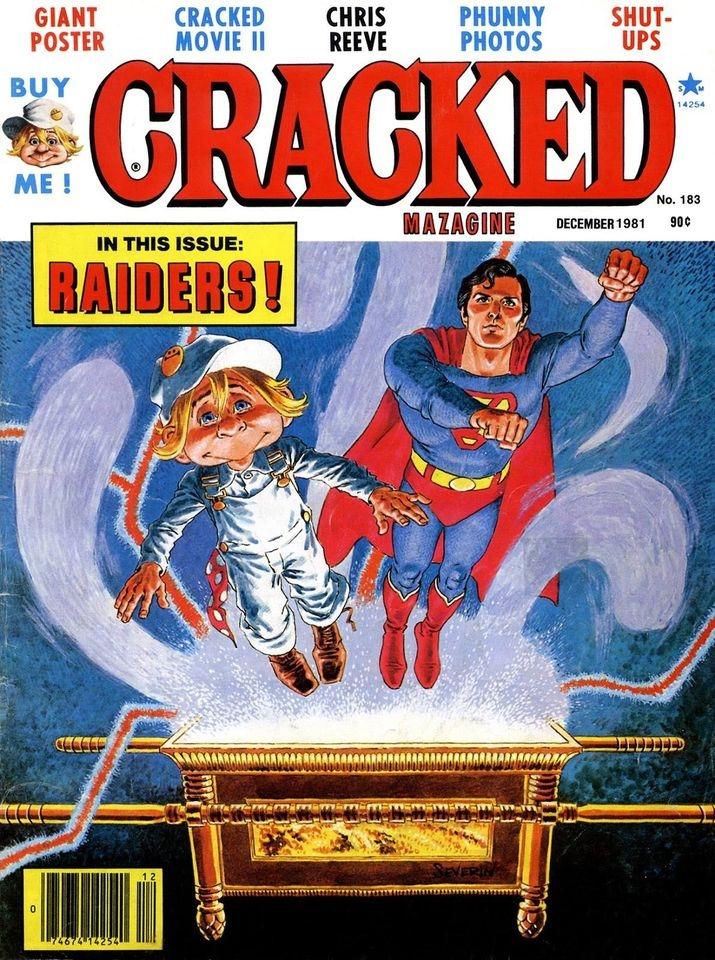 Cracked #183 • USA