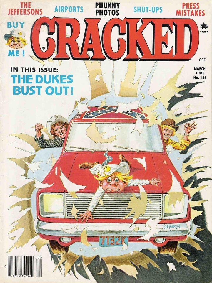 Cracked #185 • USA