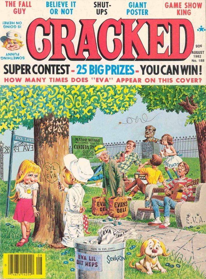 Cracked #188 • USA