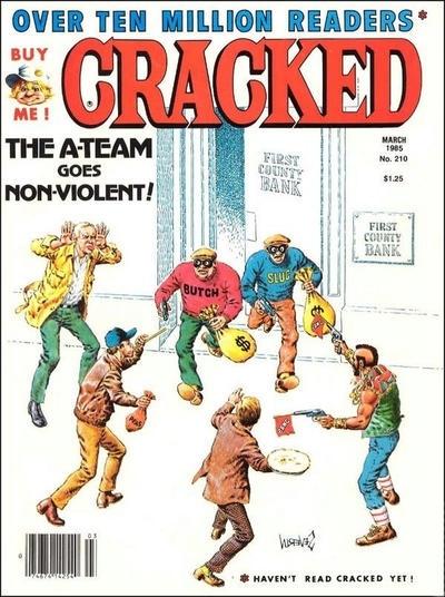 Cracked #210 • USA