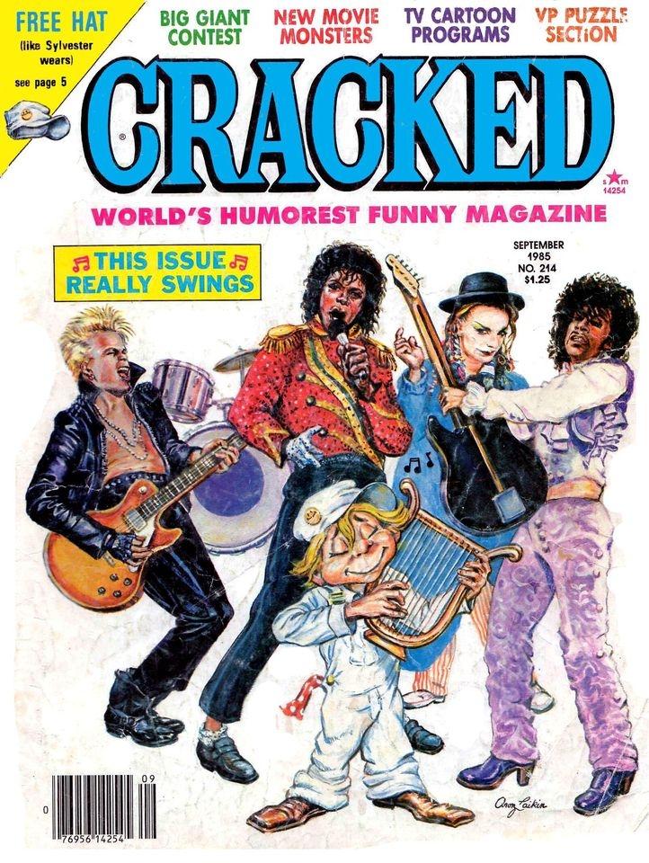 Cracked #214 • USA