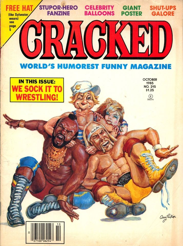 Cracked #215 • USA