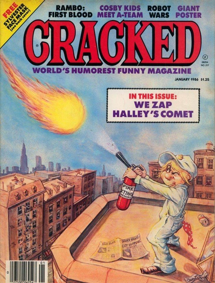 Cracked #217 • USA
