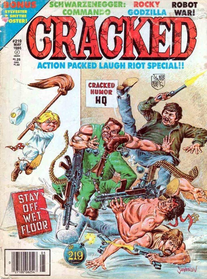 Cracked #219 • USA