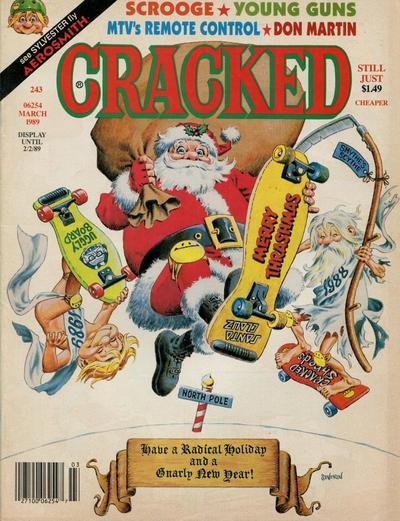 Cracked #243 • USA
