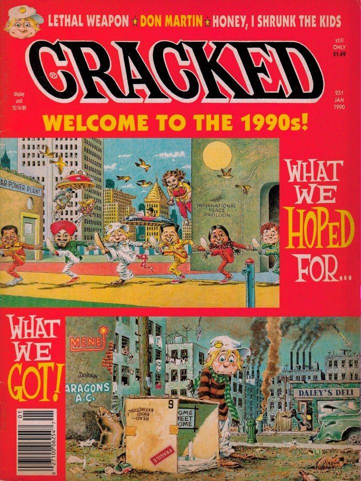 Cracked #251 • USA