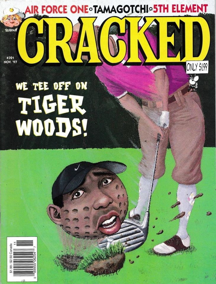 Cracked #321 • USA