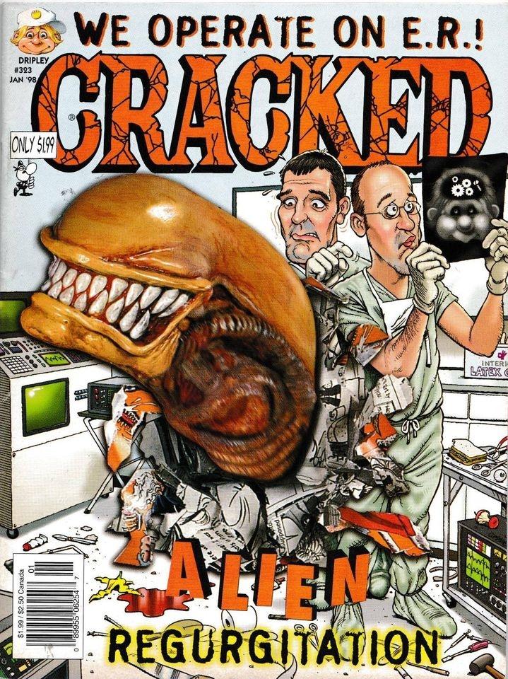 Cracked #323 • USA