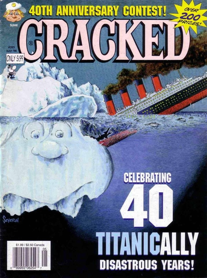 Cracked #325 • USA