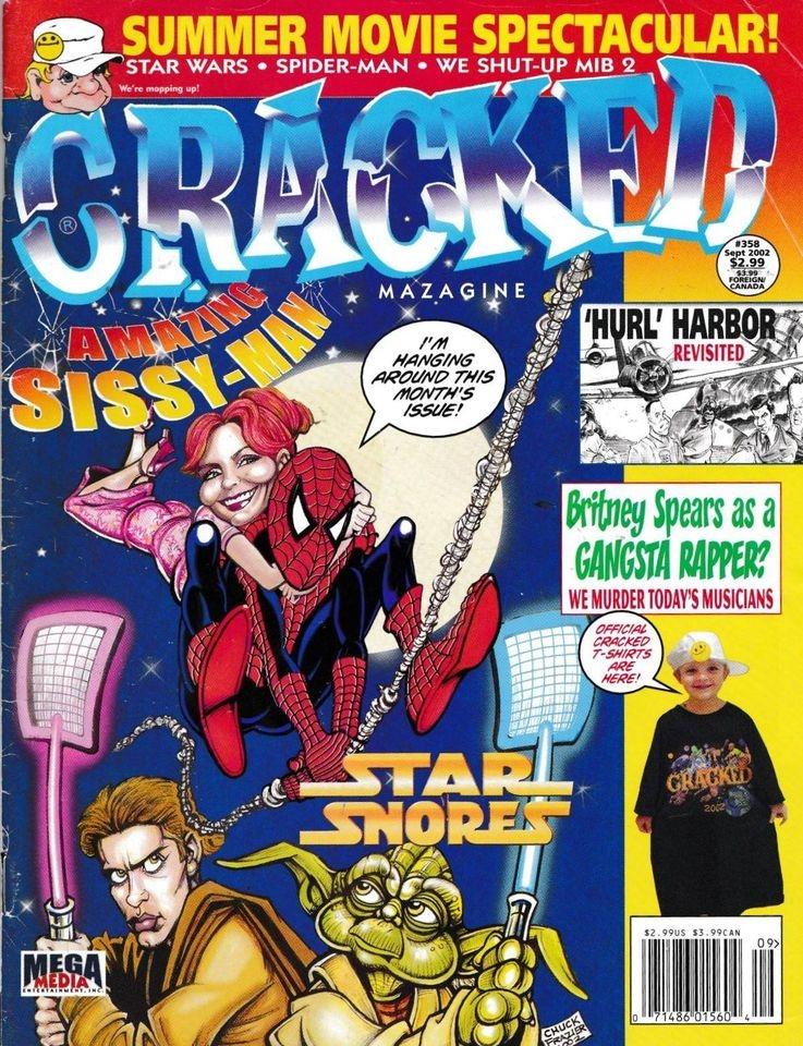 Cracked #358 • USA