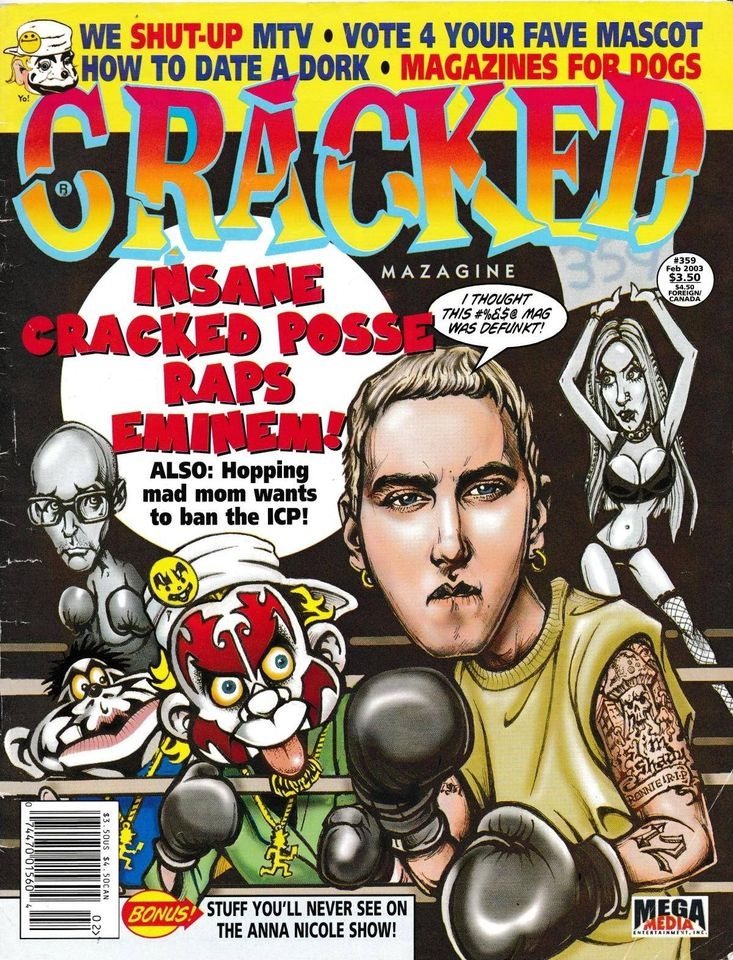 Cracked #359 • USA