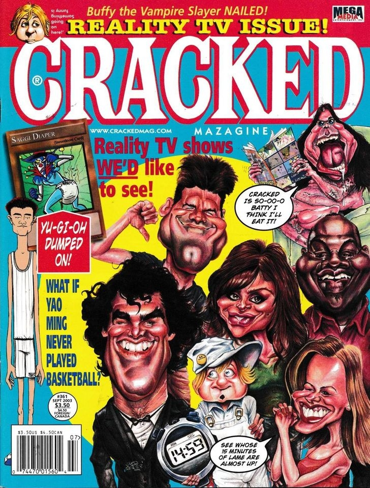 Cracked #361 • USA