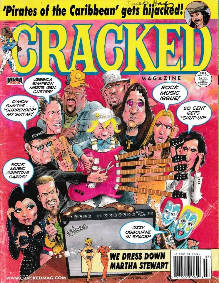 Cracked #363 • USA